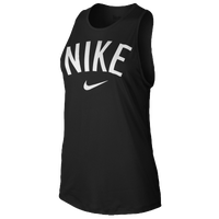 Nike Tomboy Graphic Tank - Women's - Black / White