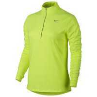 Nike Dri-FIT Element 1/2 Zip - Women's - Light Green / Light Green