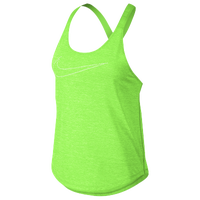 Nike Elastika Keyhole Tank - Women's - Light Green / Light Green