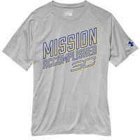 Under Armour SC30 Mission Accomplished T-Shirt - Men's - Grey / Blue