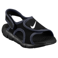 Nike Sunray Adjust 4 - Boys' Toddler - Black / Grey