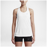 Nike Dri-FIT Miler Tank - Women's - All White / White