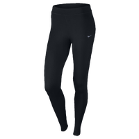 Nike Dri-FIT Thermal Tights - Women's - All Black / Black