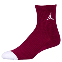 Jordan Retro 6 Socks - Men's - Maroon / White