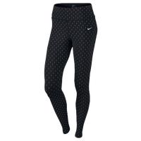 Nike Dri-FIT Epic Lux Flash Tights - Women's - Black / Silver