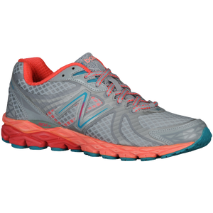 New Balance 870 V3 - Women's - Silver/Pink/Coral