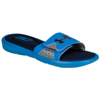 Under Armour Curry Ignite IV Slide - Men's -  Stephen Curry - Blue / Grey