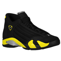 Jordan Retro 14 - Men's - Black / Yellow