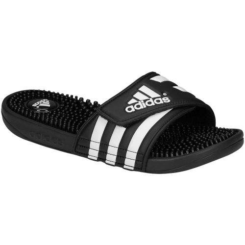 adidas Adissage - Women's - Black / White