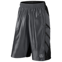Jordan Retro 9 Shorts - Men's - Grey / Black