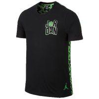 Jordan Retro 7 WB Short Sleeve Top - Men's - Black / Light Green