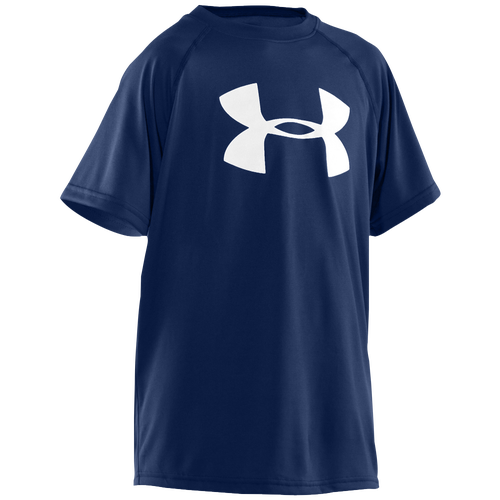 Under Armour Big Logo Tech S/S T-Shirt - Boys' Grade School
