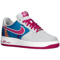 Nike Air Force 1 Low - Men's - Grey / Pink