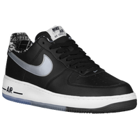 Nike Air Force 1 Low - Men's - Black / Silver