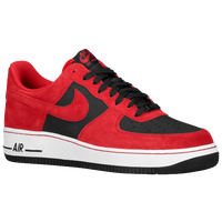 Nike Air Force 1 Low - Men's - Red / Black