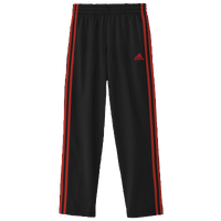 adidas Designator Pants - Boys' Grade School - Black / Red
