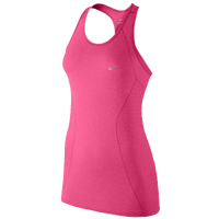Nike Dri-FIT Knit Tank - Women's - Pink / Pink