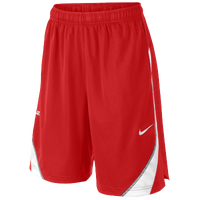 Nike LeBron Essential Short - Boys' Grade School - Red / White