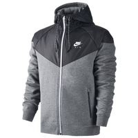 Nike Hybrid Fleece WR Jacket - Men's - Grey / Black