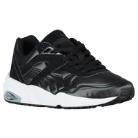 PUMA R698 - Women's - Black / White