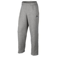 Jordan Jumpman Brushed Pants - Men's - Grey / Grey