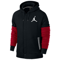Jordan The Varsity Hoodie - Men's - Black / Red