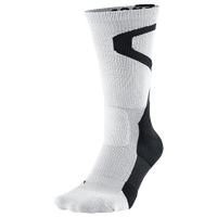 Jordan Jumpman Dri-Fit Crew Socks - White / Black