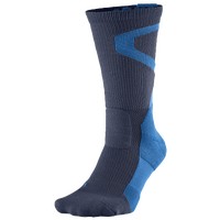 Jordan Jumpman Dri-Fit Crew Socks - Navy / Light Blue