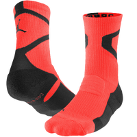 Jordan Jumpman Dri-FIT Crew Socks - Red / Black