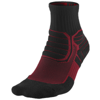 Jordan Jumpman Advance High Quarter Socks - Black / Red