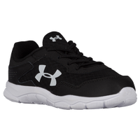 Under Armour Engage 2 BL - Boys' Toddler - Black / White