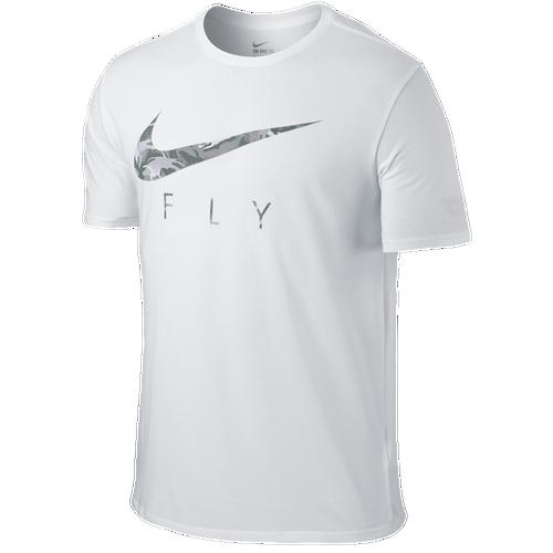 Nike Swoosh Fly T Shirt Men 39 S Basketball Clothing