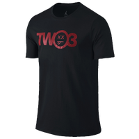 Jordan Retro 12 Two-3 T-Shirt - Men's - Black / Red