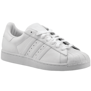adidas Originals Superstar 2 - Boys' Grade School - White/White/White