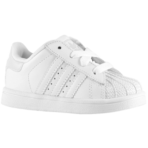 adidas Originals Superstar 2 - Boys' Toddler - White/White/White
