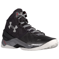 Under Armour Curry 2 - Boys' Preschool -  Stephen Curry - Black / Grey