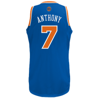 adidas NBA  Revolution 30 Swingman Jersey - Men's - New York Knicks - Blue / Orange