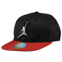 Jordan Ele Elite Snapback - Boys' Grade School - Black / Red