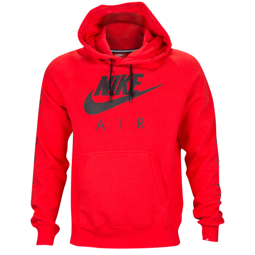 Nike Graphic Hoodie - Men's - Casual - Clothing - Red