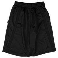 Jordan Baseline Shorts - Boys' Grade School - All Black / Black