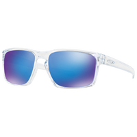 Oakley Silver Sunglasses - Men's - Clear / Blue