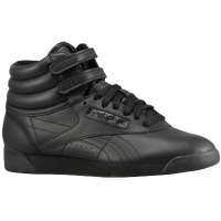 Reebok Freestyle Hi - Women's - All Black / Black