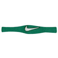 Nike Dri-Fit Bicep Bands - Dark Green / White