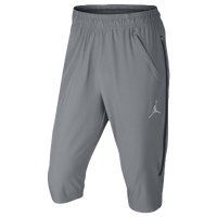 Jordan Ultimate Flight 3/4 Pants - Men's - Grey / Navy