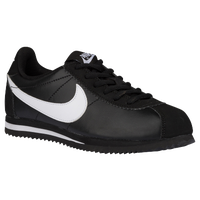 Nike Cortez - Boys' Grade School - Black / White
