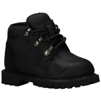 "Timberland 6"" Classic Campsite - Boys' Toddler - All Black / Black"