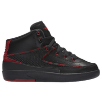 Jordan Retro 2 - Boys' Preschool - Black / Red