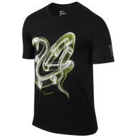 Nike Kobe X-Ray Mamba Rings T-Shirt - Men's -  Kobe Bryant - Black / Light Green