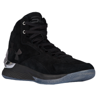 Under Armour Curry 1 Lux Mid - Men's -  Stephen Curry - Black / Silver