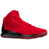 Under Armour Curry 1 Lux Mid - Men's -  Stephen Curry - Red / Black